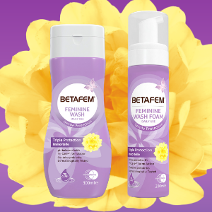 Free BETAFEM® Feminine Wash Foam (Worth £7.50)