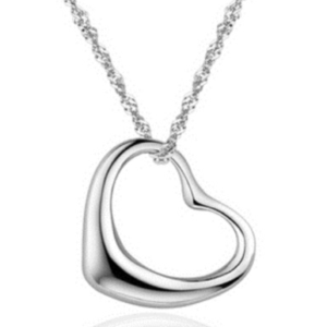 Free Tiffany Inspired Sterling Silver Necklace (Worth £70)