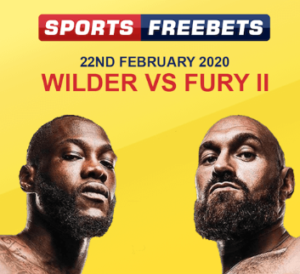 Free £10 Bet on Wilder vs Fury – No Deposit Required