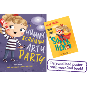 Free Personalised Kids Book and Poster