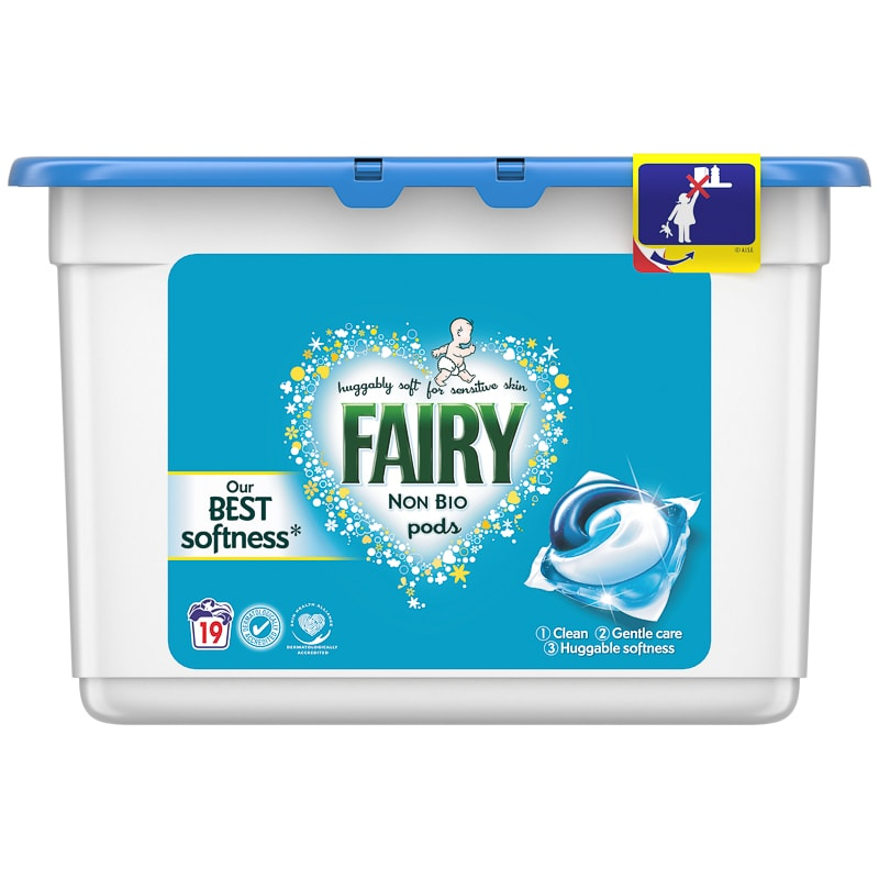 Free Fairy Washing Pods