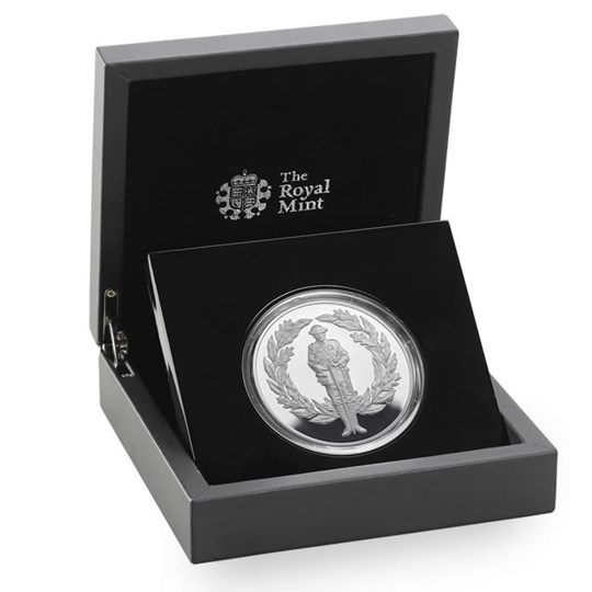 Free Limited Edition WW2 Silver Coin