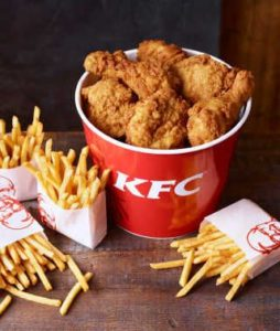 Free KFC or Pizza Hut Food (£10 Spend)