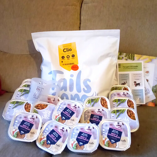 Tails – 60% Off Dog Food Box