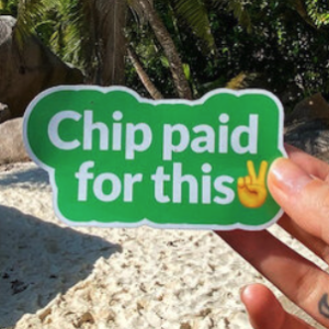 Free Chip Sticker