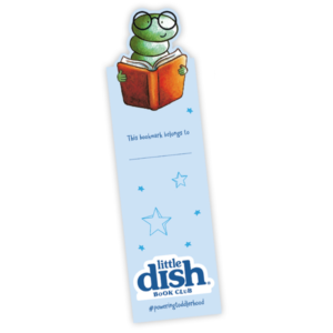 Free Little Dish Bookmark