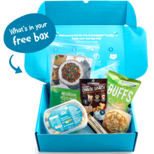 Free Food Box (Worth £13.70)