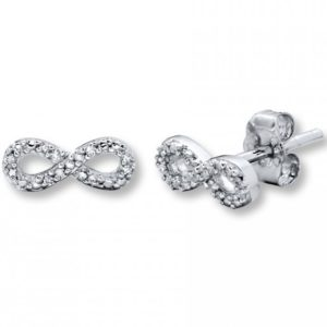 Free Sterling Silver Infinity Earrings (Worth £50)