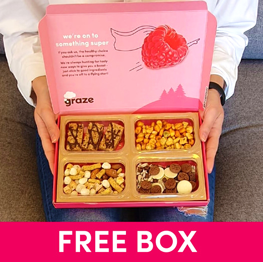 Free Delicious Snack Box Delivered