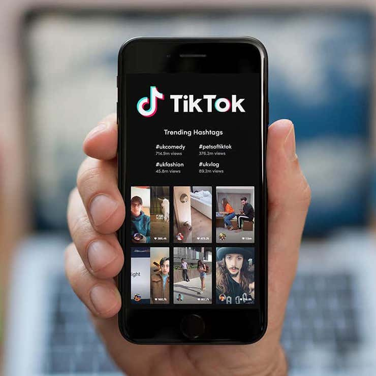 Follow Us On Tiktok