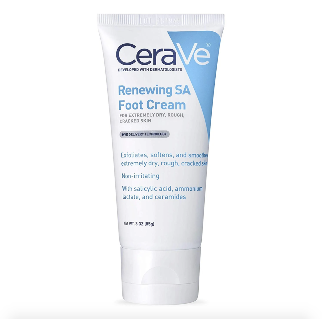 Free CeraVe Foot Cream