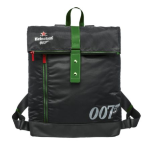 Free Heineken 007 Backpacks