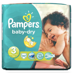 Free Pampers Nappies Pack