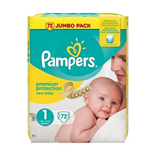 Free Pampers Nappies (Worth £16)