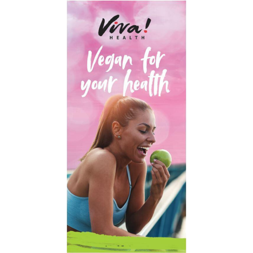 Free Vegan Food Leaflet