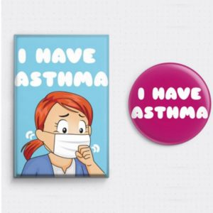 Free Asthma Sufferers Badge
