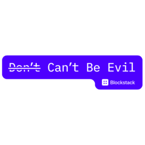 Free Can't Be Evil Stickers