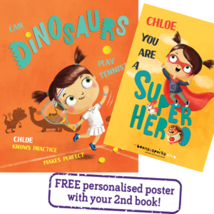 Free Personalised Dinosaur Storybook (Worth £12.99)