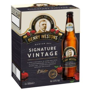 Free Henry Westons Cider Case & Glass