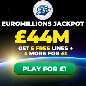 Free EuroMillions Tickets (£44M Jackpot)