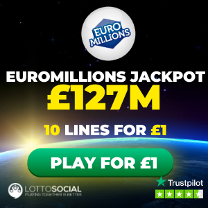 Free EuroMillions Tickets (£127M Jackpot)