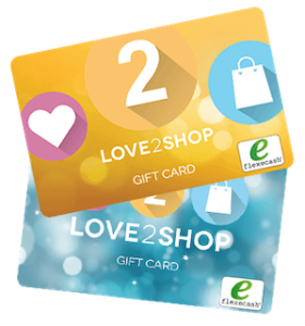 Earn a £20 Love2shop Voucher