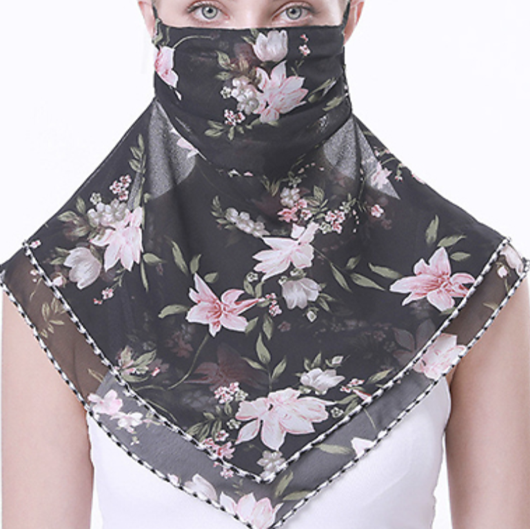 Floral Face Coverings – 95% Off today!