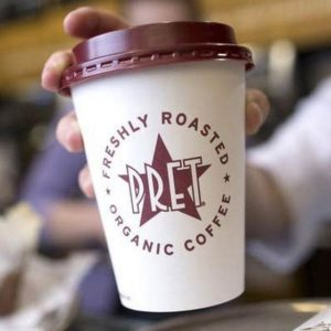 Free Pret Coffee (Worth £20)