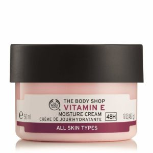 Free Body Shop Vitamin E Face Cream