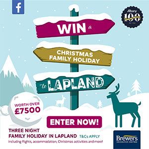 Win a Christmas Family Holiday to Lapland (Worth £7,500)