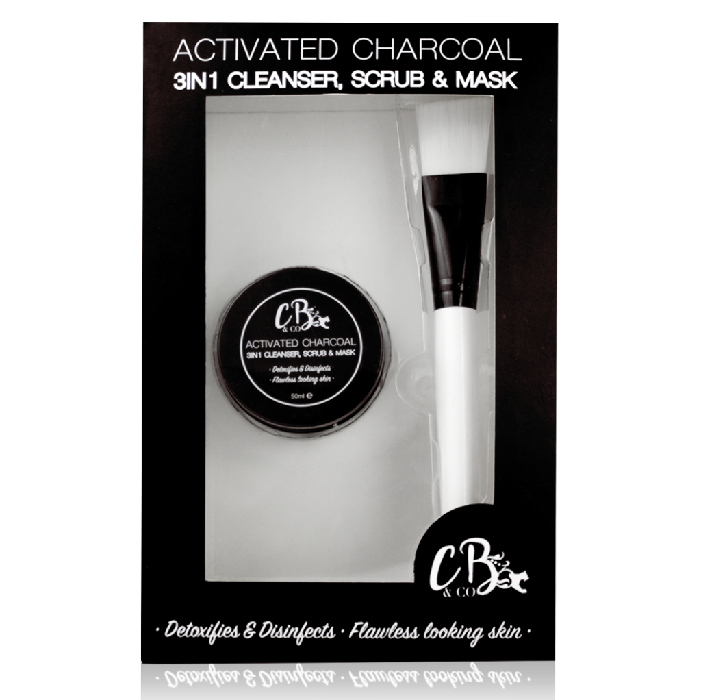 Free Charcoal Face Mask (Worth £29.99)