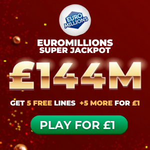 Free EuroMillions Tickets (£144M Jackpot)