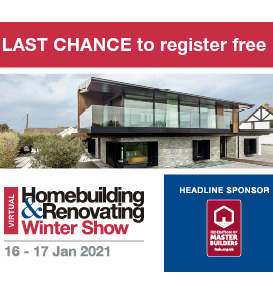 Free Homebuilding & Renovating Winter Show Tickets