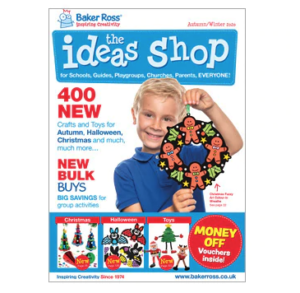 Free Baker Ross Crafting Magazine