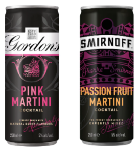 Free Gordon's and Smirnoff Cocktail Sets