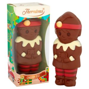 Free Thorntons Chocolate Christmas Elf
