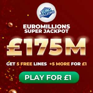 Free EuroMillions Tickets (£175M Jackpot)