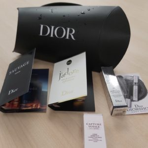 Free Dior Sample Box