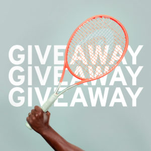 Win a Customised HEAD Tennis Racquet