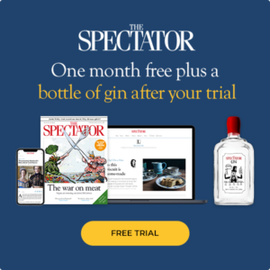 Free Spectator Magazine & Bottle of Gin