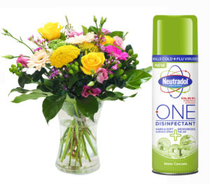 Win a 3 Months Supply of Flowers Plus a Bundle of Neutradol Disinfectant!
