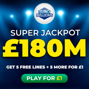 Free EuroMillions Tickets (£180M Jackpot)