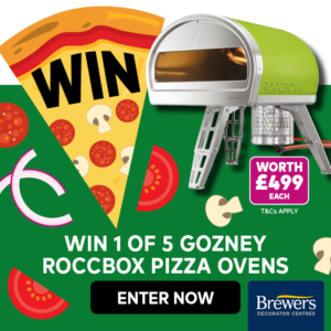 Win a Pizza Oven (Worth £499)