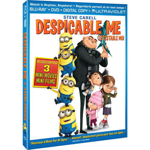 Free Despicable Me Movie (Worth £4.99)