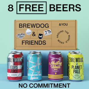 Free BrewDog Beer Box (Worth £19.99)