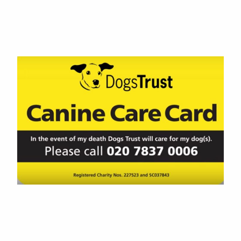 Free Dogs Trust Care Card