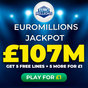 Free EuroMillions Tickets (£107M Jackpot)