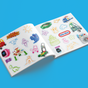 Free Little Tikes Stickers