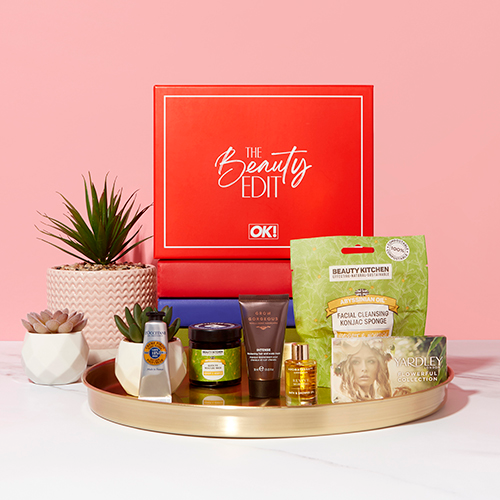 Free Beauty Samples from OK! Magazine