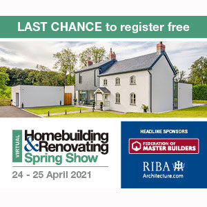 Free Homebuilding & Renovating Spring Show Tickets